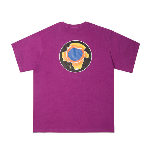 EARTH T-SHIRTS PURPLE
