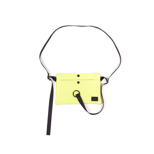 2 POCKET SACOCHE BAG NEON